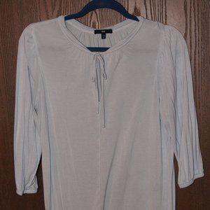 4/$20**Calvin Klein Women's 3/4 light blue blouse